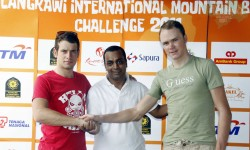 TOUR DE FRANCE 2013 WINNER FROOME GRACED LANGKAWI TWO YEARS AGO