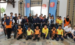 Yayasan Sime Darby Contributes 30 Mountain Bikes To Six Primary Schools In Langkawi
