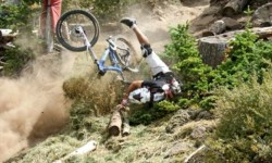 First Aid During MTB Crash