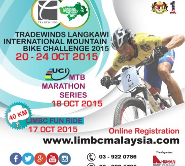 Save The Date for Tradewinds Langkawi International Mountain Bike Challenge 2015