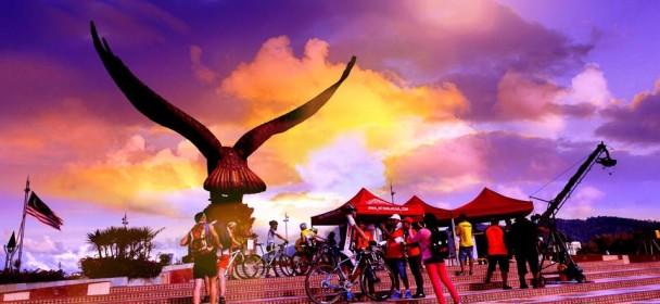 兰卡威国际山地车挑战赛倒数计时开始